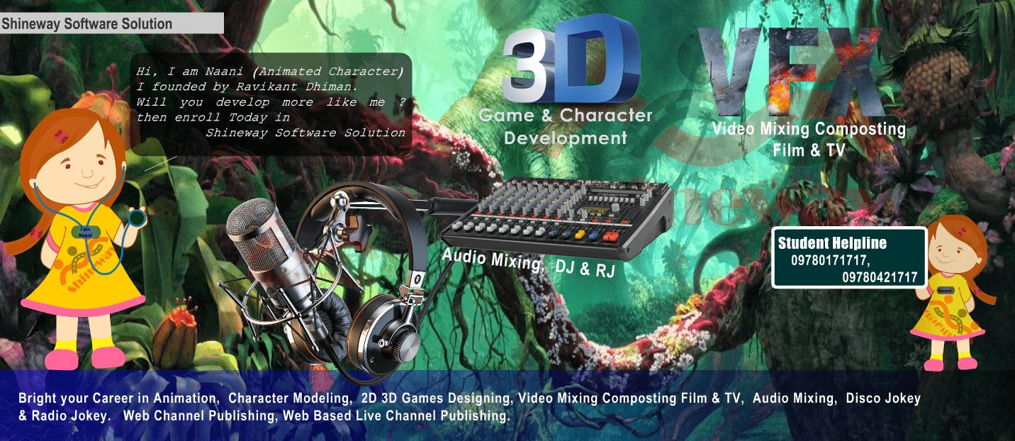 2D / 3D Games Designing